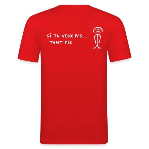 Si Tu Veux Tsmiley Glamour - réflecteur - T-shirt près du corps Homme