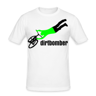 T-Shirts ~ Männer Slim Fit T-Shirt ~ dirtbomber superseater withe