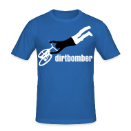 T-Shirts ~ Männer Slim Fit T-Shirt ~ dirtbomber superseater blue