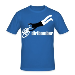 dirtbomber superseater blue - Männer Slim Fit T-Shirt