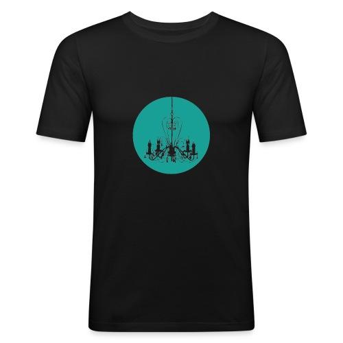 Kronleuchter - Männer Slim Fit T-Shirt
