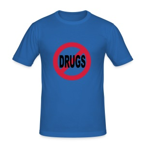 No Drugs t-shirt - Men's Slim Fit T-Shirt