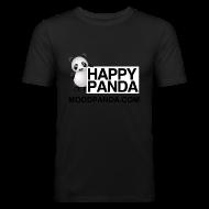 T-Shirts ~ Men's Slim Fit T-Shirt ~ Happy Panda - Men's Slim Fit