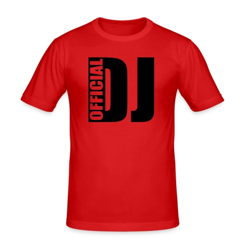 Official DJ - Man - Männer Slim Fit T-Shirt