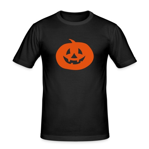 Kürbis - Männer Slim Fit T-Shirt