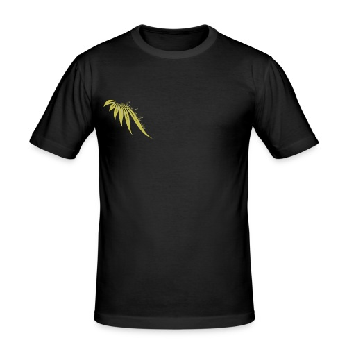 Angel in the city  logo Or Droit - T-shirt près du corps Homme