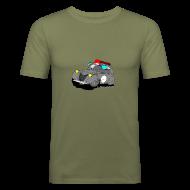 Tee shirts ~ Tee shirt près du corps Homme ~ 2cv GRISE