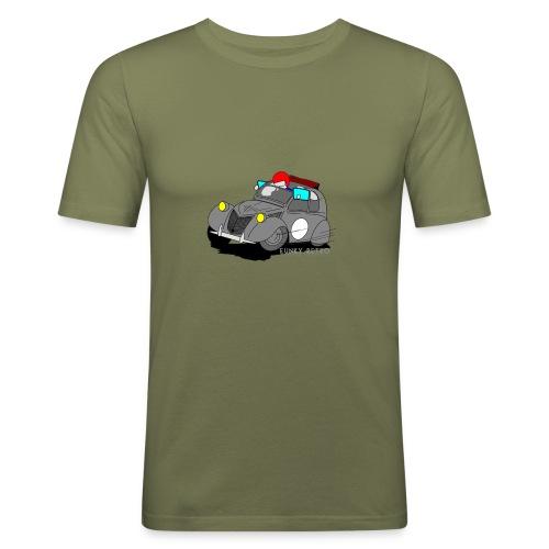 2cv GRISE - T-shirt près du corps Homme