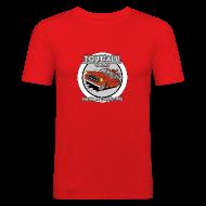 Tee shirts ~ Tee shirt près du corps Homme ~ 403 TOUT'ALU ROUGE