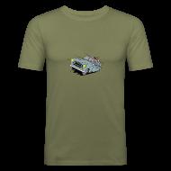 Tee shirts ~ Tee shirt près du corps Homme ~ 403 BREAK GRISE