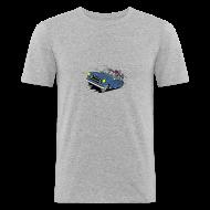 Tee shirts ~ Tee shirt près du corps Homme ~ 403 BREAK BLEUE