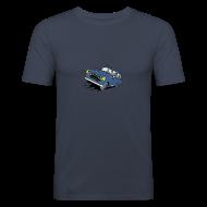 Tee shirts ~ Tee shirt près du corps Homme ~ 403 FULL THROTTLE BLEUE