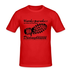 Wanderparadies Düdinghausen - Männer Slim Fit T-Shirt