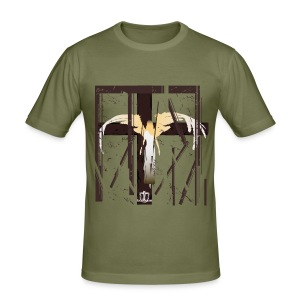 Baroque 'Caged Angel' SHADED Shirt - Slim Fit - Men's Slim Fit T-Shirt