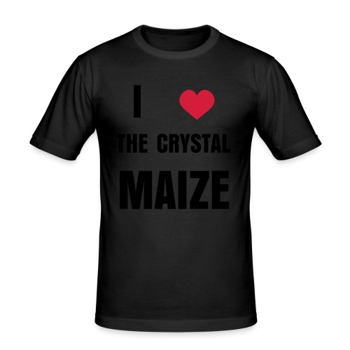 I Love The Crystal Maize - Vir - Men's Slim Fit T-Shirt