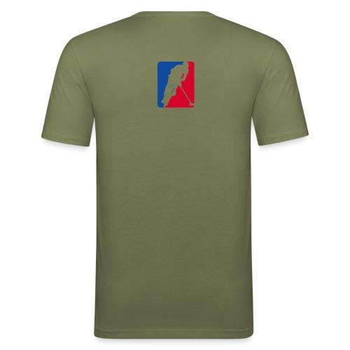 Men Slim Tshirt Menthe à l'eau - T-shirt près du corps Homme