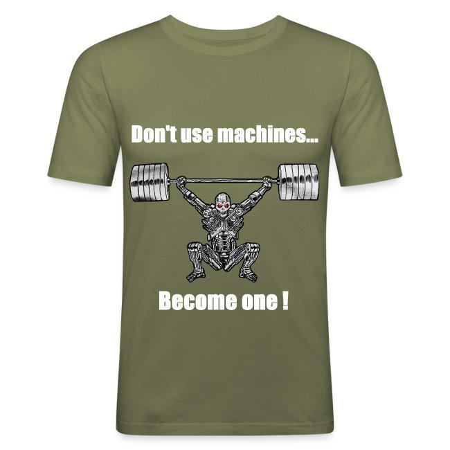 T-shirt Robot Devant Moulant