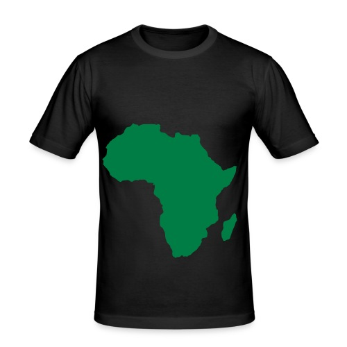 Mens Slim AFRICA T-Shirt - Men's Slim Fit T-Shirt