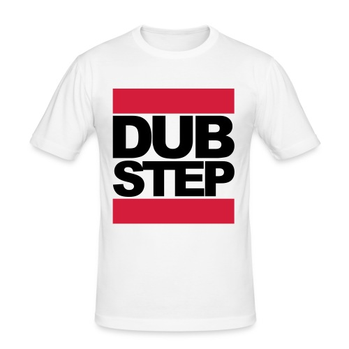 Dubstep wit - slim fit T-shirt