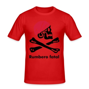 Rumbero fatal - Männer Slim Fit T-Shirt