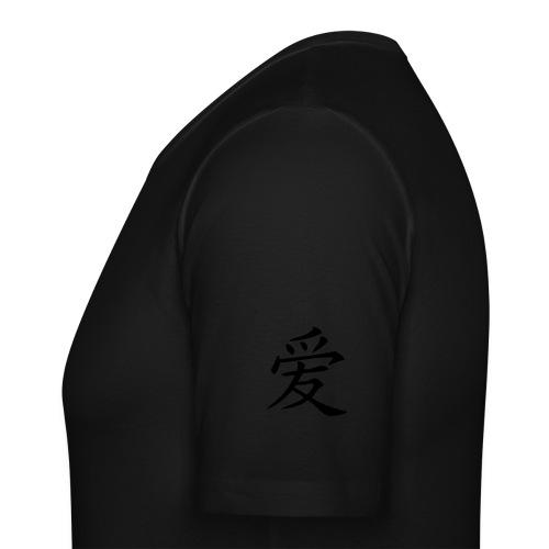 T'shirt Noir Homme - T-shirt près du corps Homme