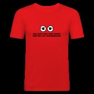 T-shirts ~ Slim Fit T-shirt herr ~ Kure Kure Underground • Fit-T