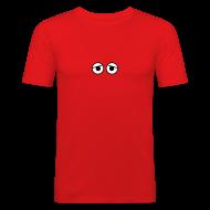 T-shirts ~ Slim Fit T-shirt herr ~ Kure Kure Eyes • Fit-T