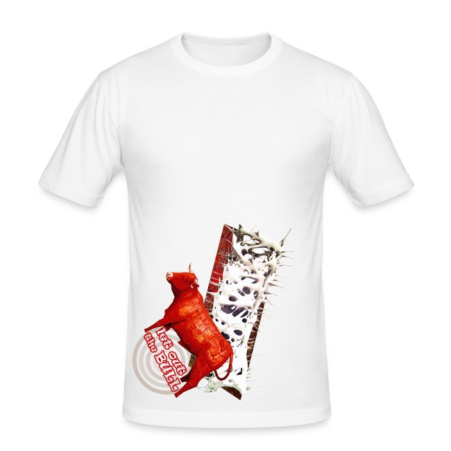 Let out the bull, t-shirt