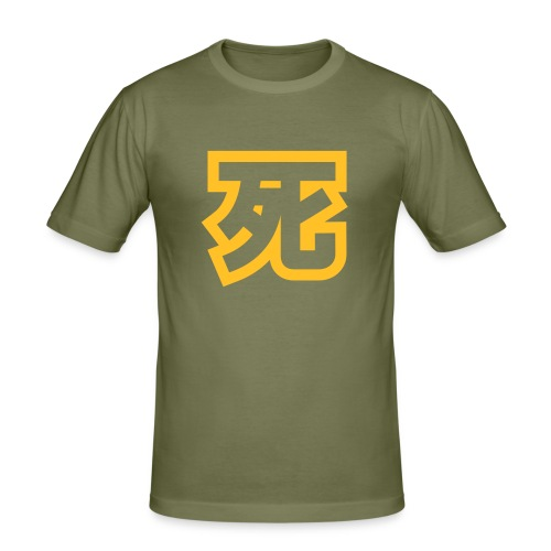 Chinese Death Fat - Men's Slim Fit T-Shirt