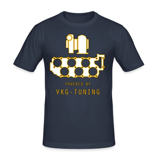 VKG VR6 TURBO - Herre Slim Fit T-Shirt