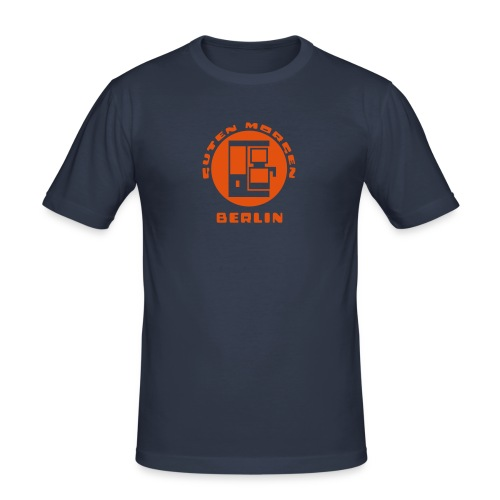 Berlin Guten Morgen Kaffee T-Shirt - Männer Slim Fit T-Shirt