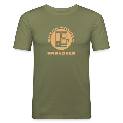 Hannover Guten Morgen Kaffee T-Shirt - Männer Slim Fit T-Shirt