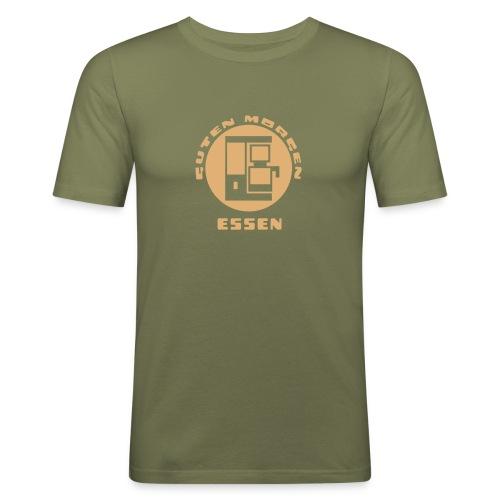 Essen Guten Morgen Kaffee T-Shirt - Männer Slim Fit T-Shirt
