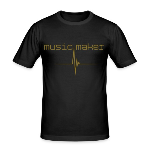 ...Music Pleasure Maker - T-shirt près du corps Homme