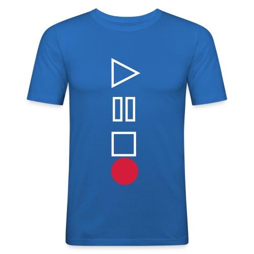 RECORD!!  - Men's Slim Fit T-Shirt