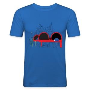 Lister Platz - Männer Slim Fit T-Shirt