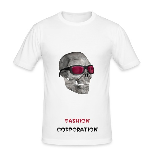 fashion mortel - T-shirt près du corps Homme