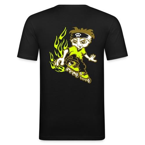 roller pirate - T-shirt près du corps Homme