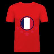T-Shirts ~ Männer Slim Fit T-Shirt ~ Artikelnummer 18127605