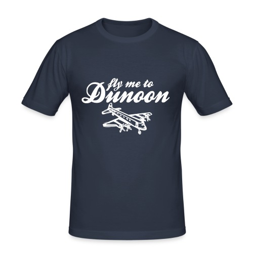 Fly me to Dunoon - Men's Slim Fit T-Shirt