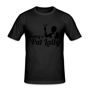 Fancy a Pat Lally - Men's Slim Fit T-Shirt