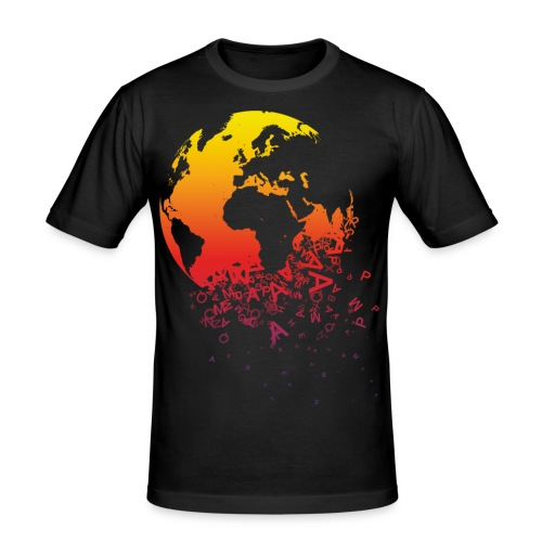 World hold on - Männer Slim Fit T-Shirt