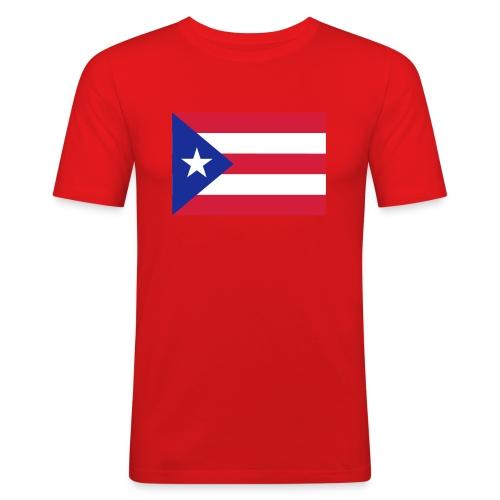 PUERTO RICO FLAG - T-shirt près du corps Homme