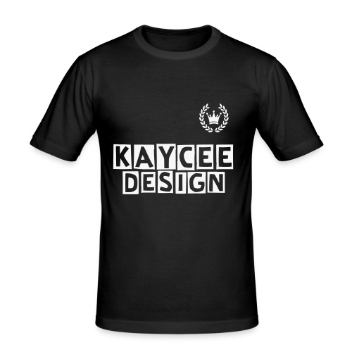 Slim Fit KayCee Design - Männer Slim Fit T-Shirt