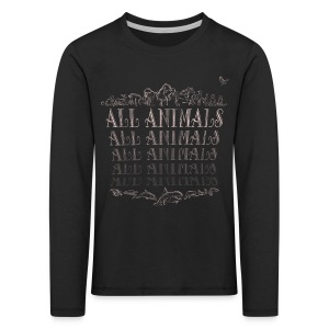 All Animals - T-shirt manches longues Premium Enfant