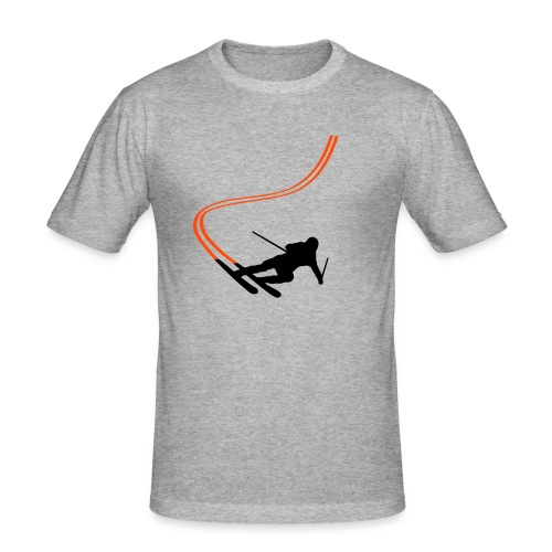 Ski Men's Tee - Men's Slim Fit T-Shirt