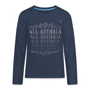 All Animals - T-shirt manches longues Premium Ado