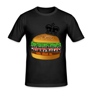 Royal Burger of Rutherglen - Men's Slim Fit T-Shirt