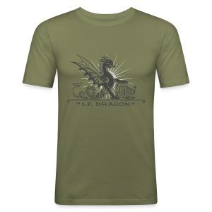 Dragon grey - Tee shirt près du corps Homme