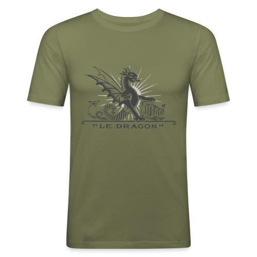 Dragon grey - T-shirt près du corps Homme